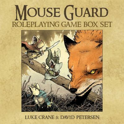 Mouse Guard Roleplaying Game Box Set 9781936393176