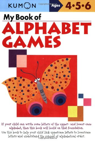 My Book of Alphabet Games Ages 4, 5, 6 9781933241364