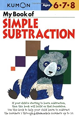 My Book of Simple Subtraction 9781933241067