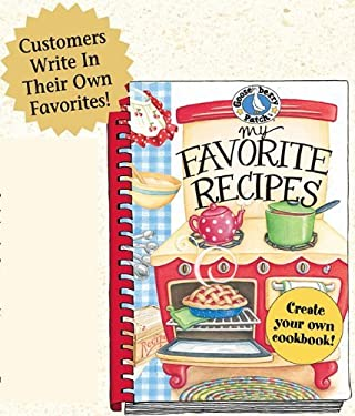 My Favorite Recipes: A Create-Your-Own Cookbook! 9781933494111