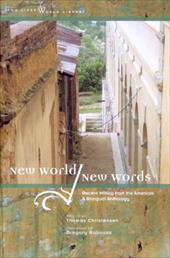 New World/New Words: Recent Writing from the Americas, a Bilingual Anthology 7794024