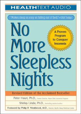 No More Sleepless Nights 9781933310145