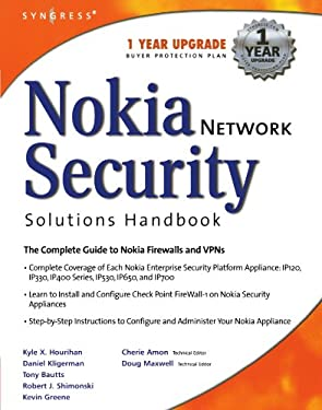 Nokia Network Security Solutions Handbook 9781931836708