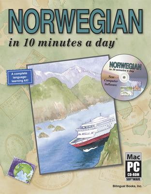 Norwegian in 10 Minutes a Day [With CDROM] 9781931873086