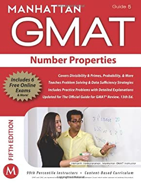 Manhattan GMAT Number Properties, Guide 5 [With Web Access] 9781935707653