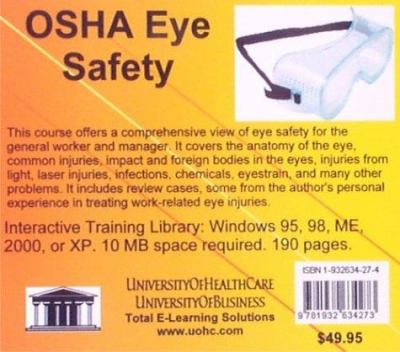 OSHA Eye Safety