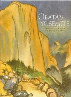 Obata's Yosemite Woodblock Print [With Envelopes] 9781930238169