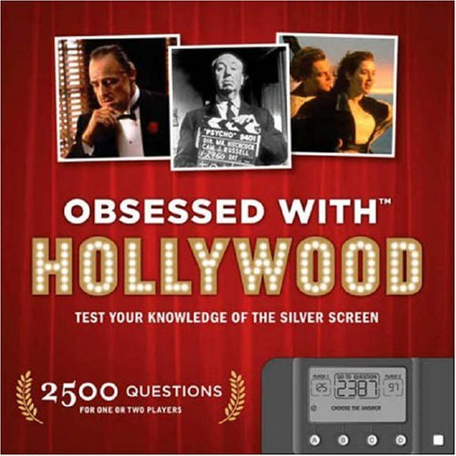 Obsessed with Hollywood: Test Your Knowledge of the Silver Screen [With Computerized Quiz Module] 9781932855722