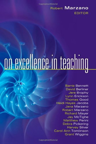 On Excellence in Teaching 9781934009581