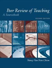 Peer Review of Teaching: A Sourcebook