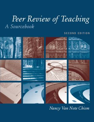 Peer Review of Teaching: A Sourcebook 9781933371214