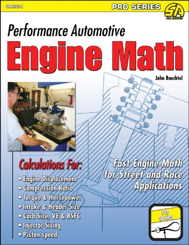 Performance Automotive Engine Math 9781934709474
