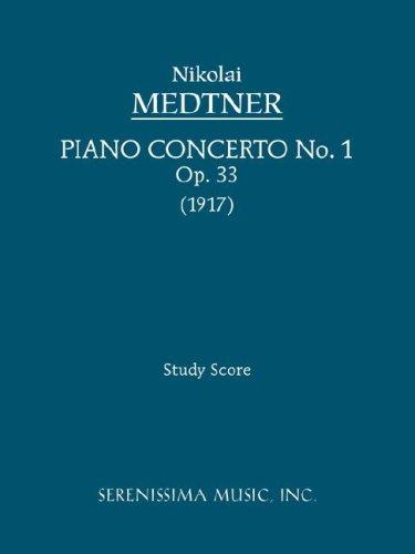 Piano Concerto No. 1, Op. 33 - Study Score 9781932419771
