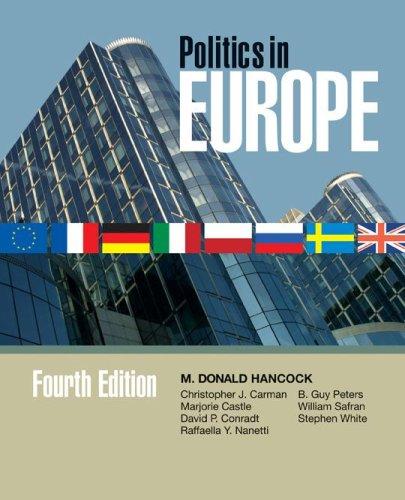 Politics in Europe 9781933116457