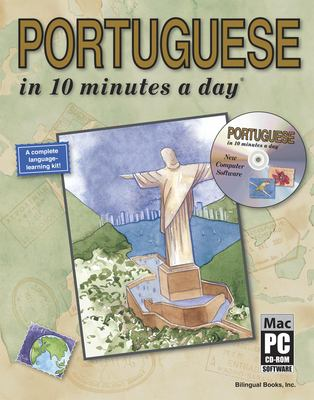Portuguese in 10 Minutes a Day [With CDROM] 9781931873093