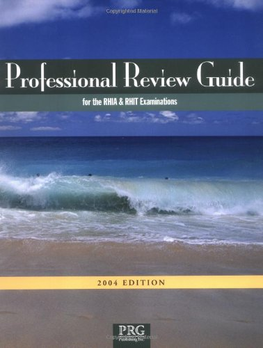 Professional Review Guide for the Rhia and Rhit Examinations 2004 Edition with Interactive CD-ROM 9781932152135
