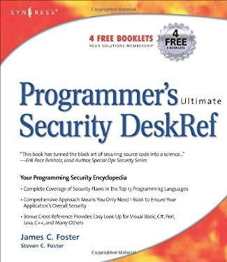 Programmer's Ultimate Security DeskRef 9781932266726