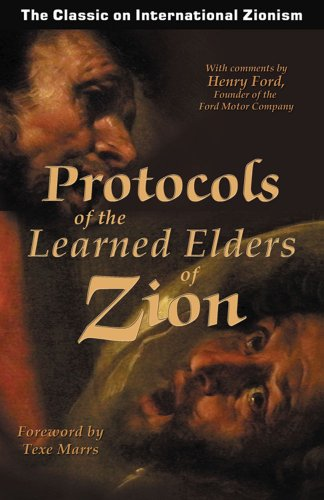 Protocols of the Learned Elders of Zion 9781930004566