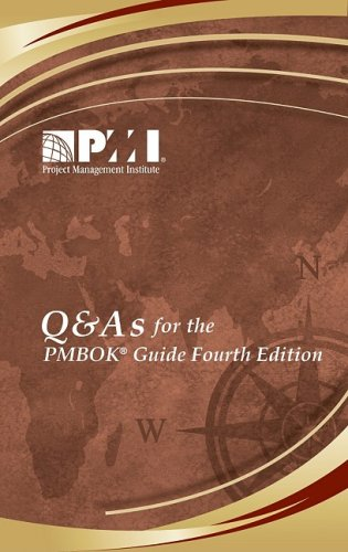 Q & A's for the Pmbok Guide 9781933890753