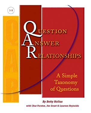 Qar (Question-Answerrelationships): A Simple Taxonomy of Questions