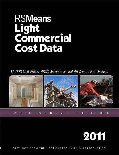RSMeans Light Commercial Cost Data 9781936335138