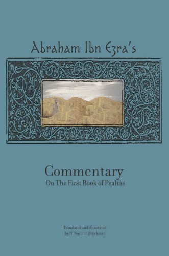 Abraham Ibn Ezra's Commentary on Psalms: Vol. 1 (Ch. 1 - 41) 9781934843307