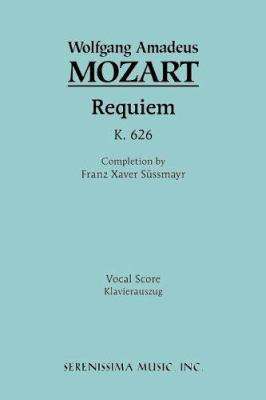Requiem, K. 626 - Vocal Score 9781932419177