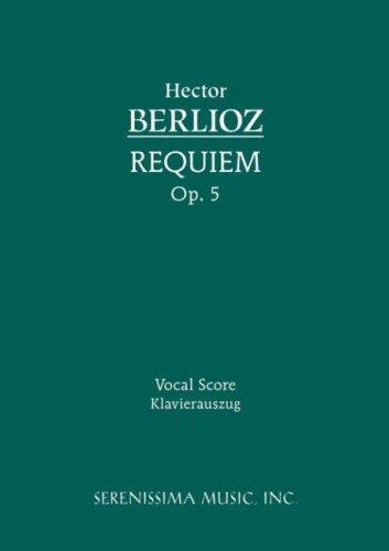 Requiem, Op. 5 - Vocal Score 9781932419832