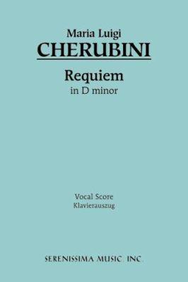 Requiem in D-Minor Vocal Score 9781932419283