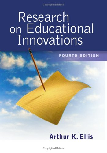 Research on Educational Innovations 9781930556966