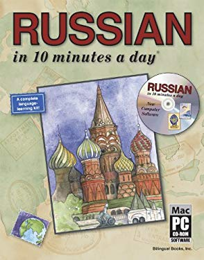 Russian in 10 Minutes a Day [With CDROM] 9781931873109
