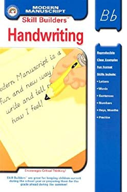Skill Builders Modern Manuscript Handwriting 9781932210262