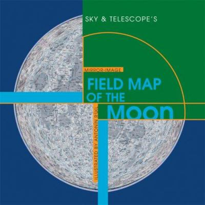 Sky & Telescope's Mirror-Image Field Map of the Moon 9781931559294