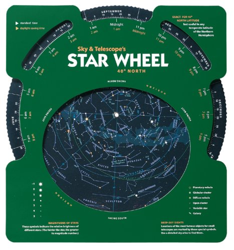 Sky & Telescope's Star Wheel 40 North 9781931559119