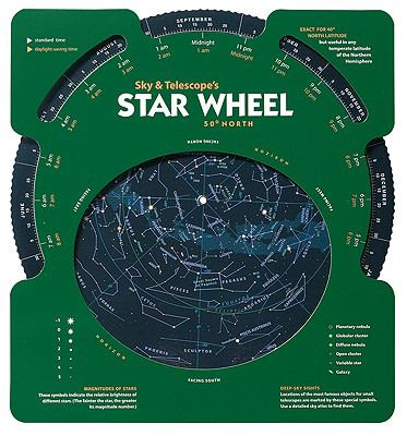 Sky & Telescope's Star Wheel 50 North 9781931559126