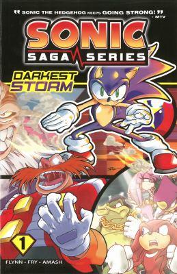 Sonic Saga Series 1: Darkest Storm 9781936975167
