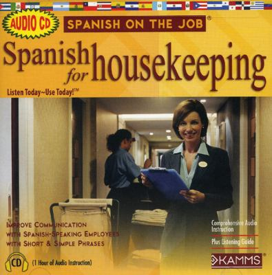 Spanish for Housekeeping 9781934842300