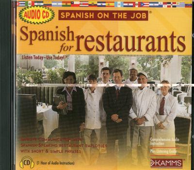 Spanish for Restaurants 9781934842256
