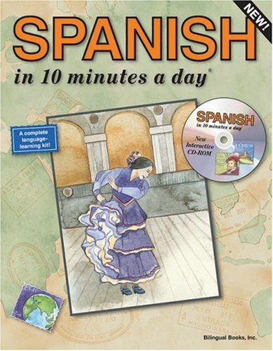Spanish in 10 Minutes a Day [With CDROM] 9781931873116