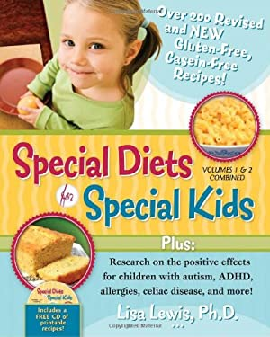 Special Diets for Special Kids, Volumes 1 & 2 Combined [With CDROM] 9781935274124