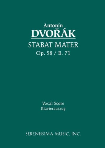 Stabat Mater, Op. 58 - Vocal Score 9781932419542
