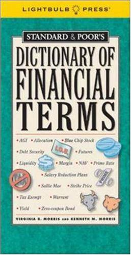 Standard & Poor's Dictionary of Financial Terms 9781933569048