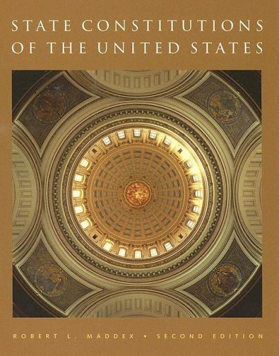 State Constitutions of the United States 9781933116259
