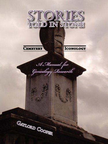 Stories Told in Stone: Cemetery Iconology 9781934894194