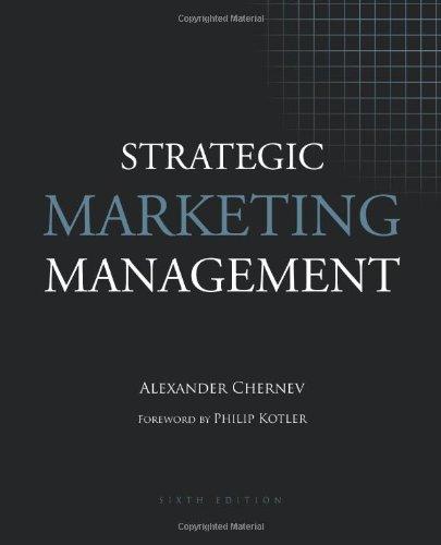 Strategic Marketing Management 9781936572007