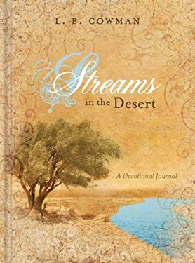 Streams in the Desert: A Devotional Journal 9781935416098