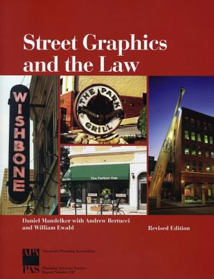 Street Graphics and the Law 9781932364019