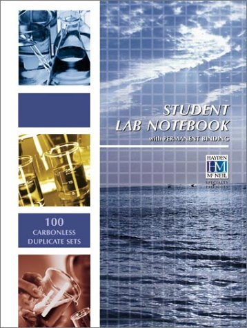 Student Lab Notebook: 100 Top Bound duplicate pages