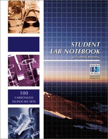 Student Lab Notebook: 100 Spiral Bound Duplicate Pages 9781930882744