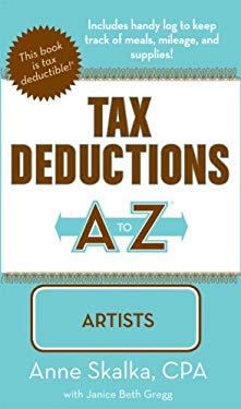 Tax Deductions A to Z for Artists 9781933672250